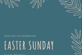 Join us for Easter!